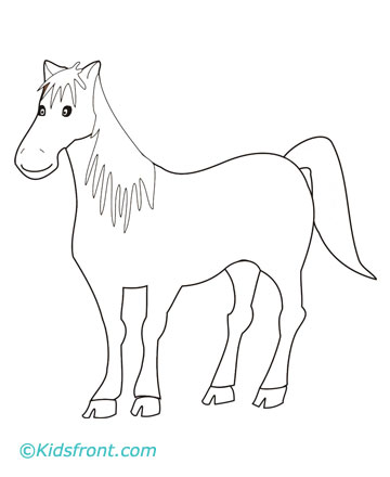 draw horse. It Is A Horse.
